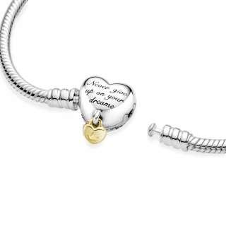 Brățară Pandora Moments Disney Princess de tip lănțișor clasic cu închizătoare sub formă de inimă